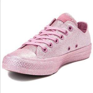 Women Pink Sparkly Converse on Poshmark